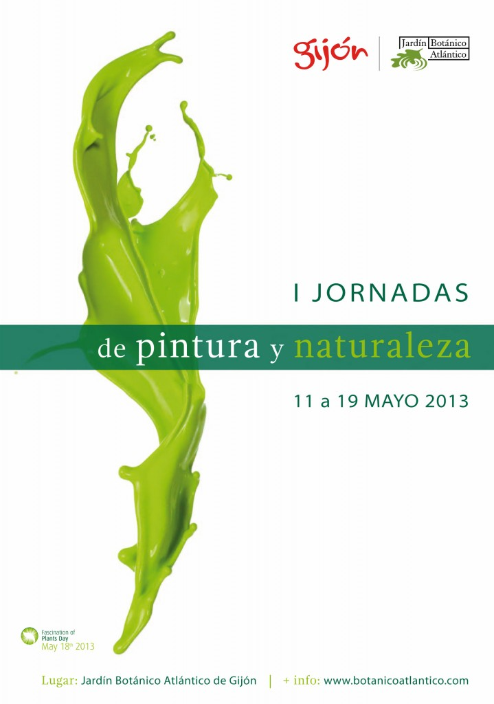 I Jornadas Pintura y Naturaleza_Cartel