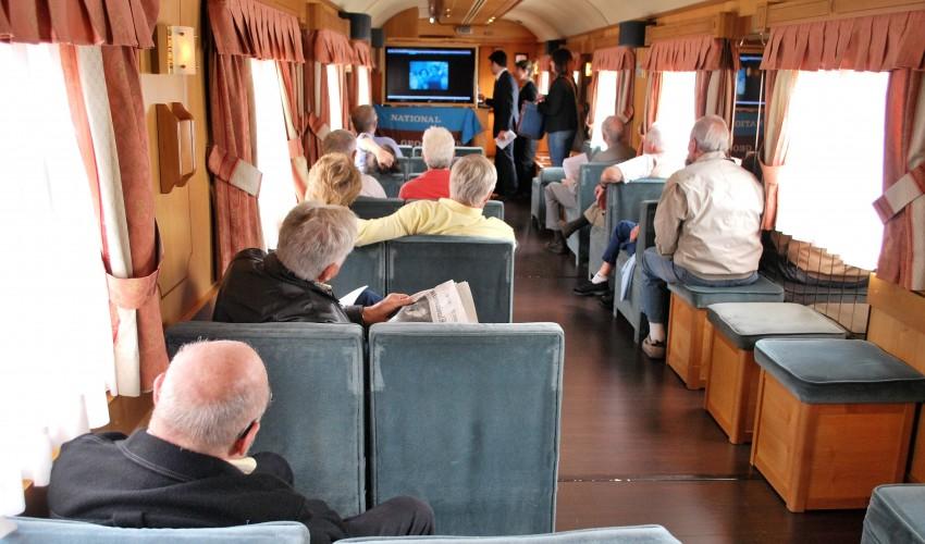 Conferencias a bordo de El Transcantábrico