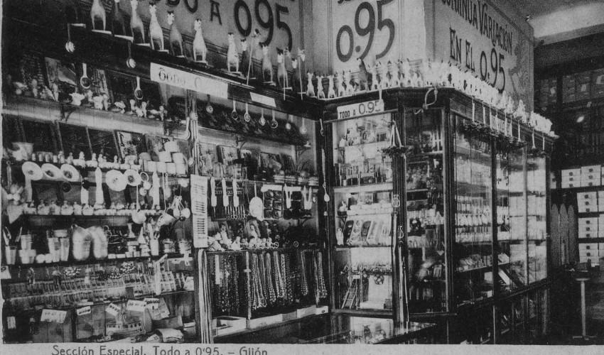 Libro «El pequeño comercio en Gijón»