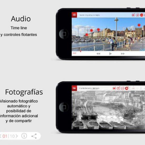 App LiveAR Gijón