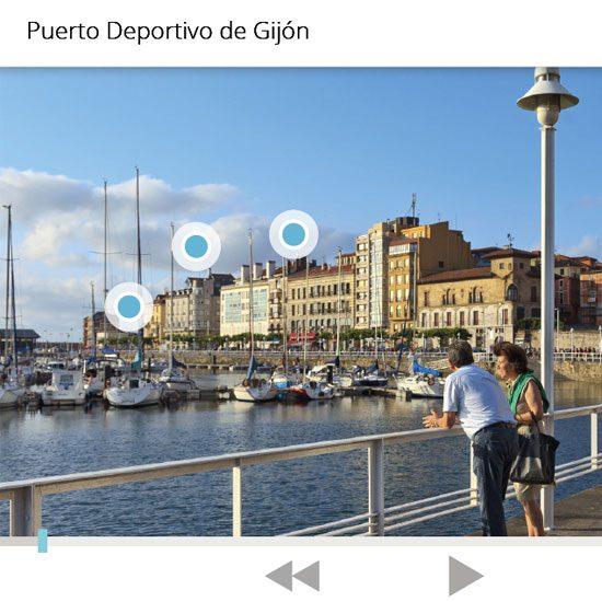 App LiveAR Camino Cultural Atlántico